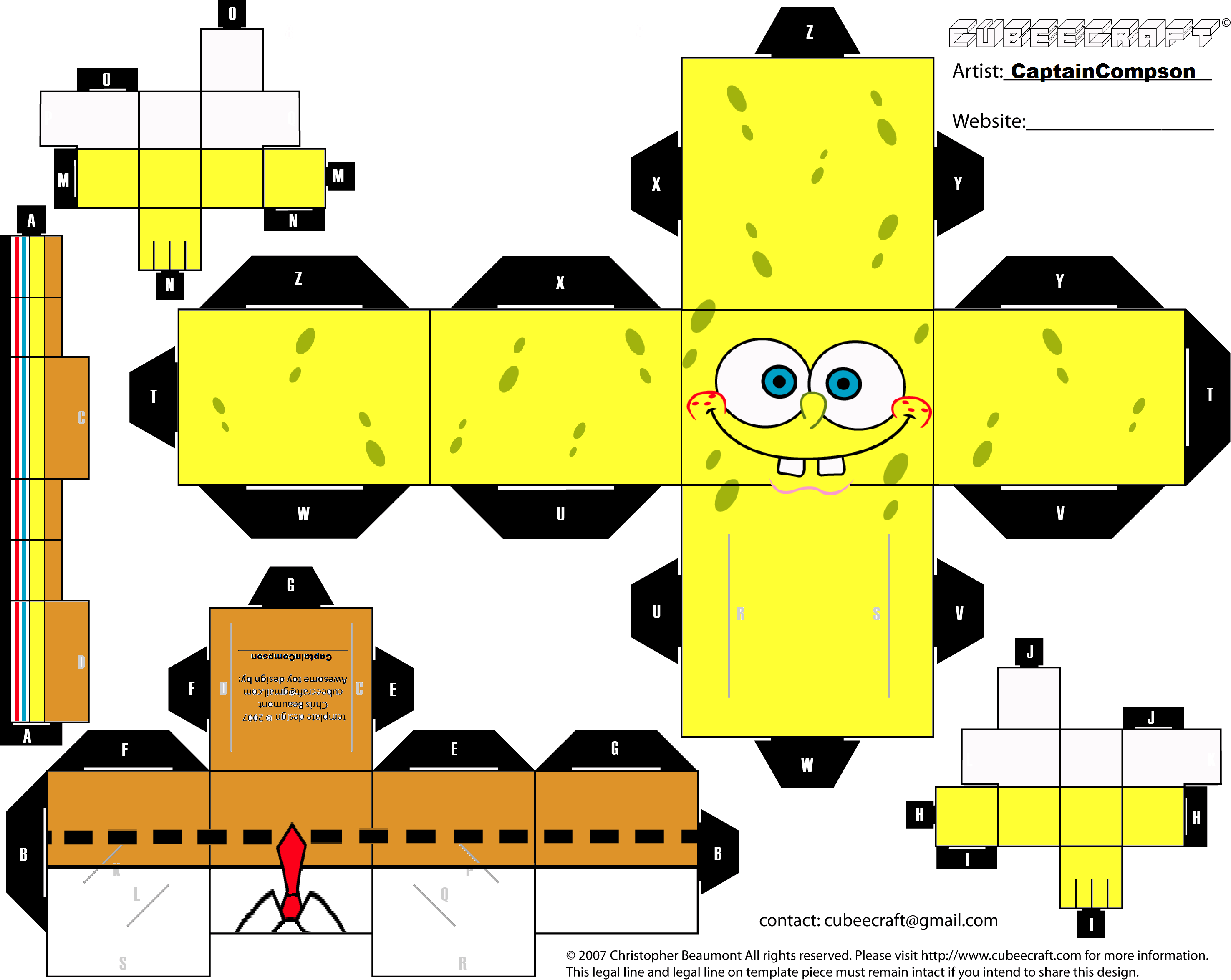 Spongebob_Cubeecraft_by_captaincompson